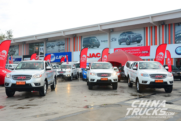 Jump 580% 728 Units of JAC Frison Pick-up Exported in Total