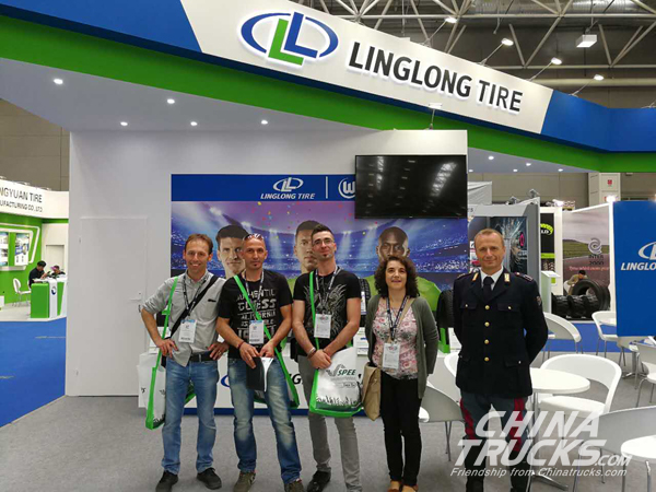 Linglong Showcases New Products at Italy AUTOPROMOTEC 2017