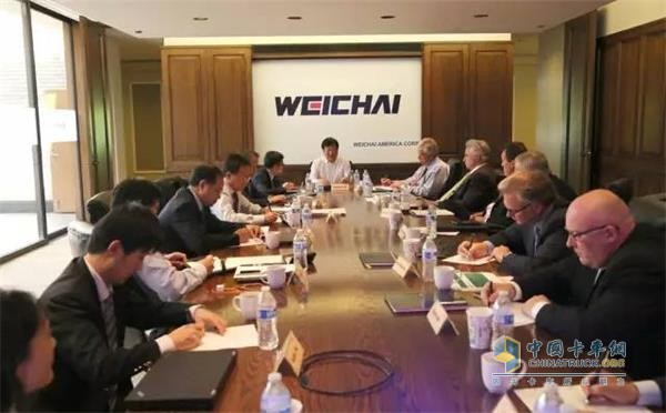 Coops Between Weichai America Corp. and PSI to Bring Win-win Result