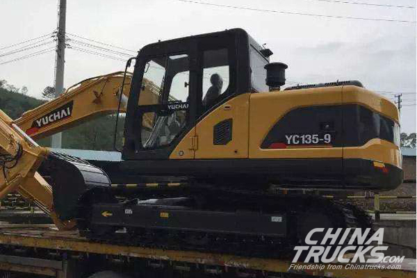 First Batch of Yuchai YC-9 Excavators Shipping off to New Zealand