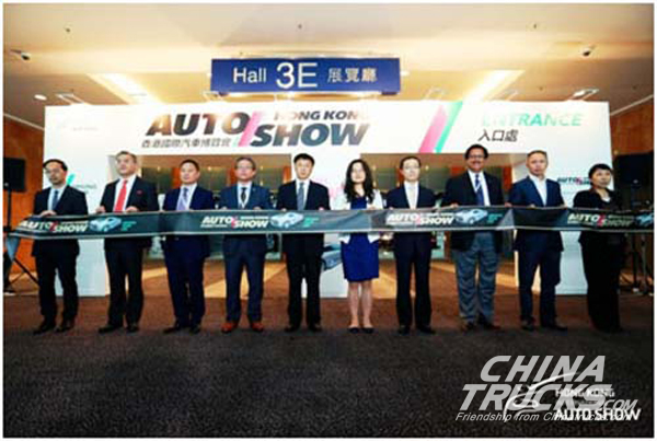 SINOTRUCK Showcase Its Leading Products at Hong Kong Autoshow
