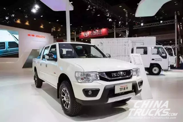 Qingling ISUZU Adds Three Upgrades to IF Pickup