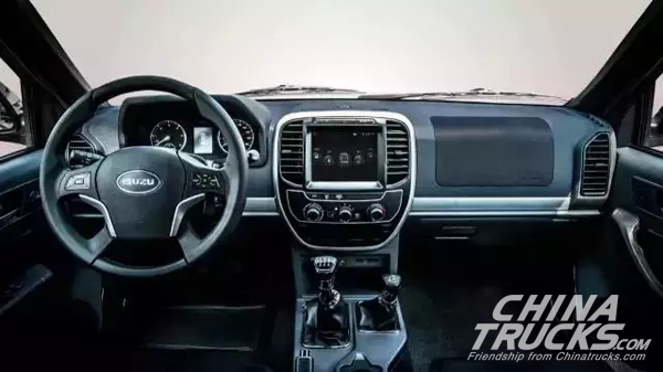 Qingling ISUZU Adds Three Upgrades to IF Pickup