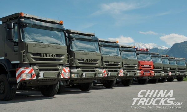 Swiss Army Orders 400 New Gen Trucks From Iveco