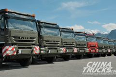 Iveco Receives an Order for 400 New Gen Trucks from Swiss Army