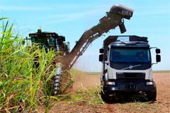 Self-steering Volvo Truck Set to Increase Brazil's Sugar-cane Harvest