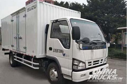 Qingling QL5073XXYA5KAJ Cargo Truck