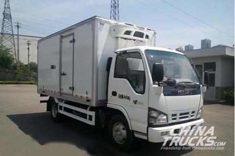 Qingling QL5040XLCA5HAJ Refegerator Truck