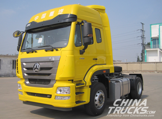 First SINOTRUK HOWO Automatic Vehicle Rolls Off the Production Line
