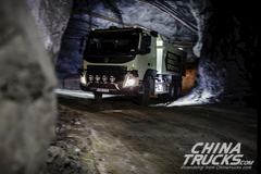 Volvo Tests Self-Driving Trucks in a Mine in Sweden