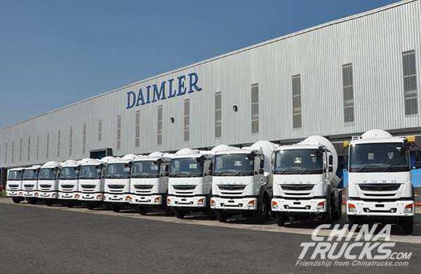 Daimler India Crosses 10,000 Truck Export Mark