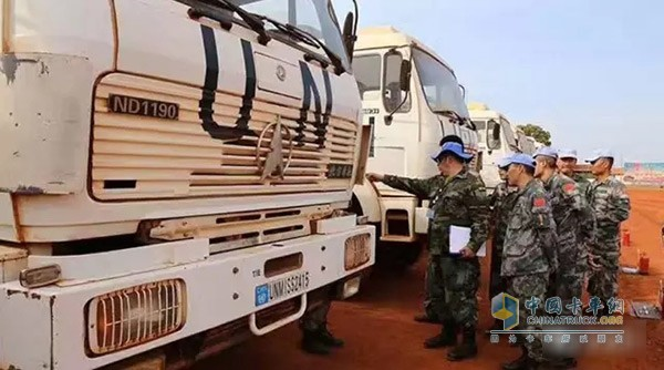Beiben UN Designated as Official Vehicle for United Nations Peacekeeping Force