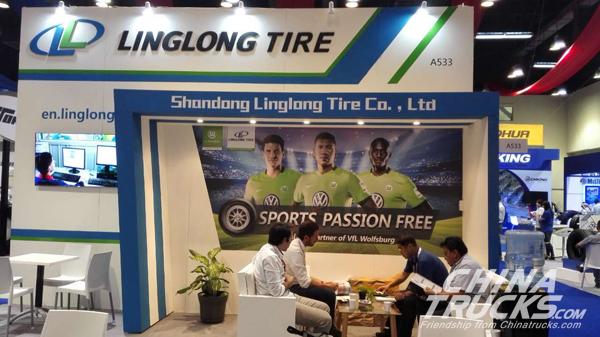 Linglong at Latin American&Caribbean Tyre Expo