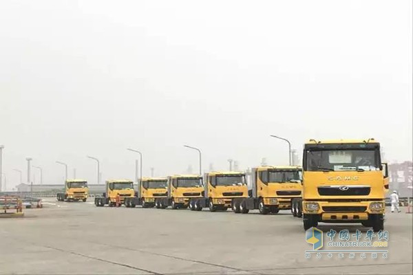 CAMC Gets Order to Supply 51 Units Natural Gas Trucks to South America