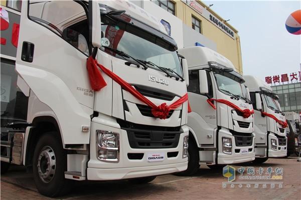 Qingling GIGA Heavy-Duty Truck Launched in Dalian