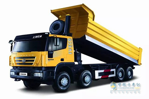SAIC Hongyan KINGKAN M500 8×4 Dumper