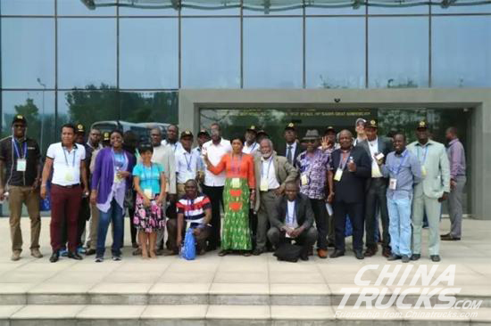 Senior Officials from 12 Countries Visit XCMG