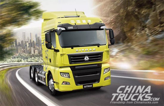 Top Three Best-Selling Heavy Trucks in First Half of 2017