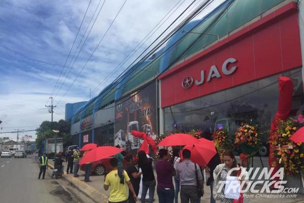 JAC opens Cebu dealership at NRA