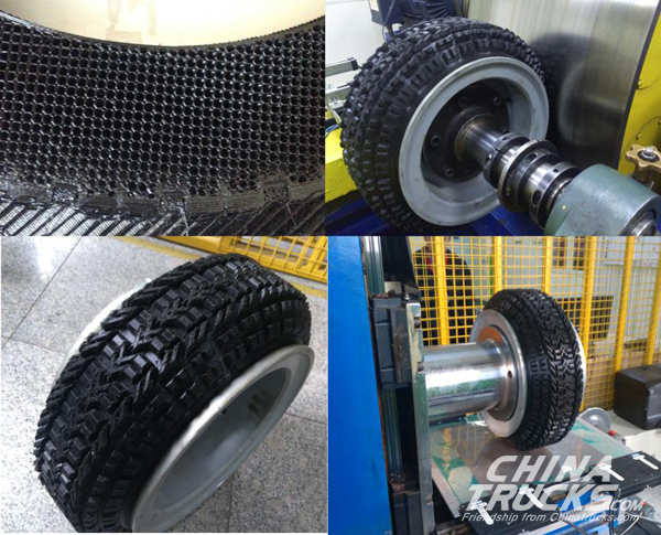 Chinese First Polyurethane Tire through 3D Printing Successfully Developed