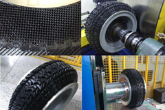 First Chinese 3D printing Polyurethane tire Successfully Developed