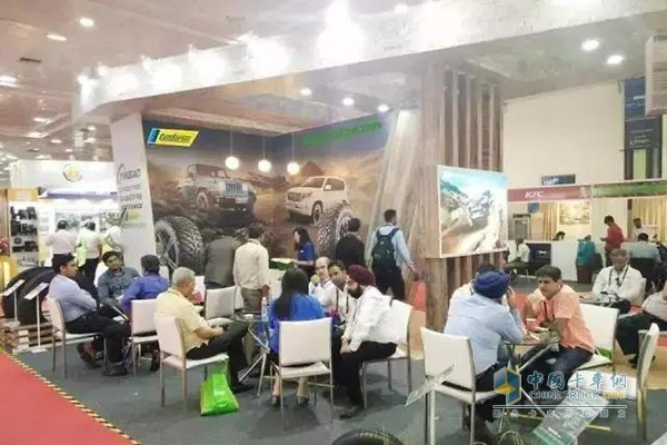 Yinbao Group Showcases at India Tire Exhibition, Attracting More New Users
