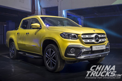 Mercedes-Benz Reveals Production X-Class Pickup Truck in South Africa