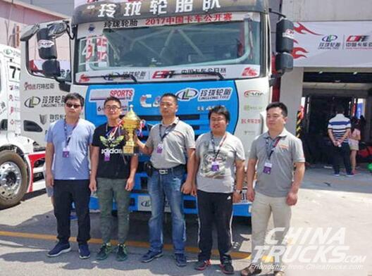 Yuchai YC6K Engine Shines at the China Truck Racing Championship (Beijing Statio