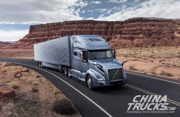 News Volvo VNL Semi Trucks Feature Numerous Self-Driving & Safety Features