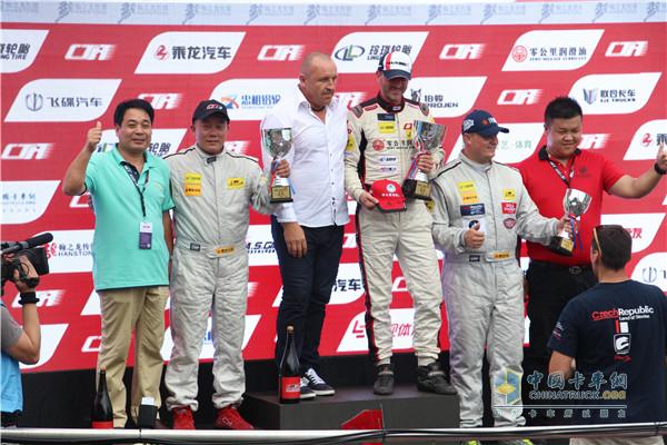 Dongfeng Liuzhou Motor Be a Real Winner at China Truck Racing Championship