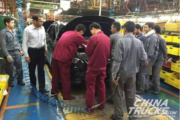 JAC Shines at Iran International Auto Show