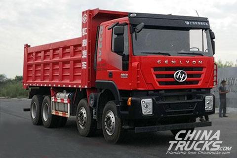SAIC Hongyan Genlyon CQ3316HMVG336S Dumper