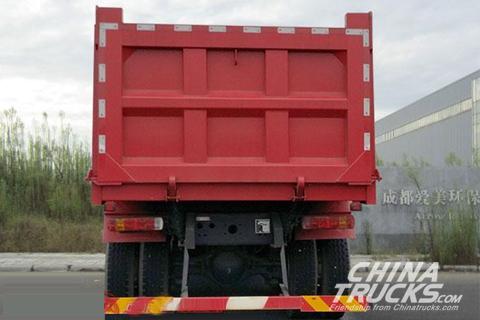 Genlyon CQ3316HMVG336S Dumper+SAIC Fiat Engine