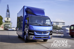 Daimler Fuso eCanter Electric Truck Enters Production in Europe
