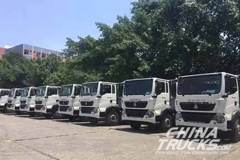 24 SINOTRUK T5G Trucks Delivered to CNPC
