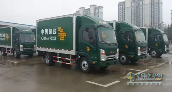 JAC Secures an Order to Supply 110 Shuailing World Truck to China Post