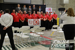 Hino Celebrates Williamstown Plant's 10th Anniversary