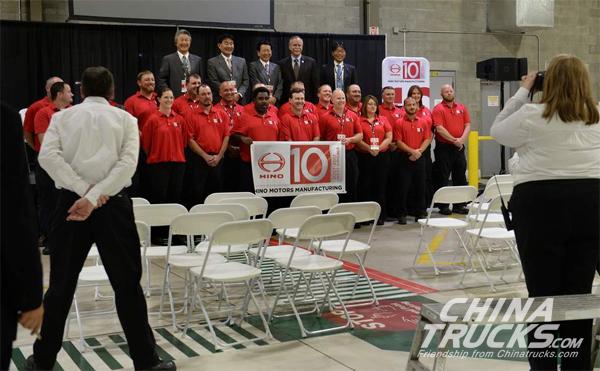 Hino Celebrates Williamstown plant