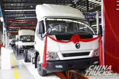 First 100 Units Yuchai New Energy Vehicles Arrived in Nanning