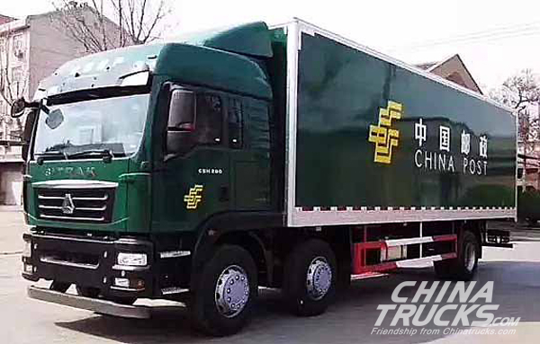 Sinotruck Secures an Order of 365 Units Sitrak from China Post