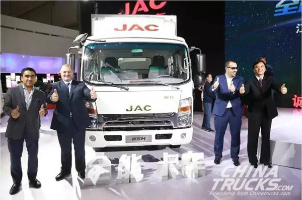 3500 Units JAC World Truck  Exported During First Half Year, up 27%