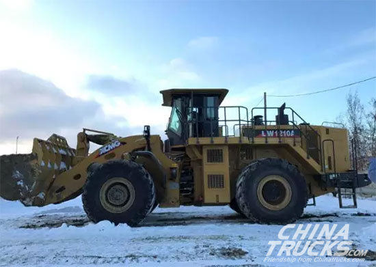 XCMG Wheel loaders Working in Freezing-cold Region of Russia