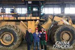 XCMG Wheel Loaders Operate in Freezing-Cold Place of Russia