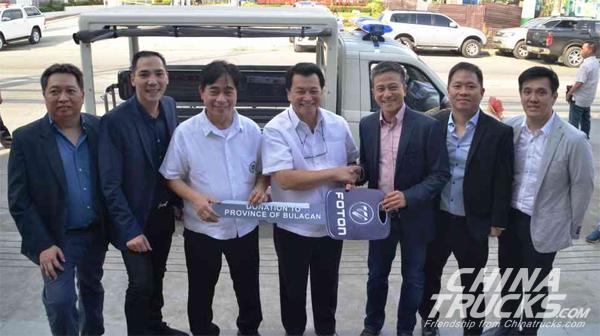 Foton Opens Philippines Marilao Bulacan Dealership