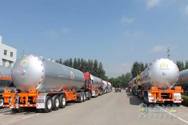 CIMC LPG Towing Vehicles Rise in Popularity in Vietnam