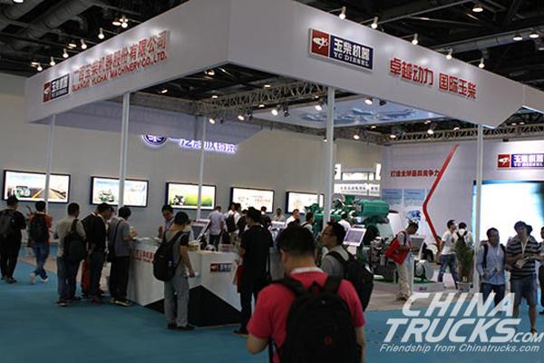 Yuchai YC6K Makes its Debut in Beijing