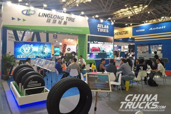 Linglong Shines off  at China International Tire Expo