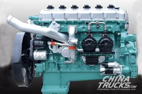 Xichai Aowei CA6SM2 LNG Engine