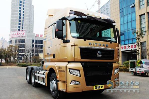 Sinotruk Sitrak Sold 1,300 Units in August