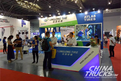 Linglong on CITEXPO Shanghai